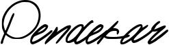 Pendekar Font