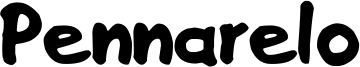 Pennarelo Font