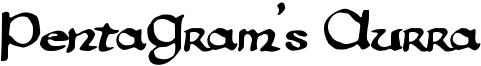 PentaGram's Aurra Font