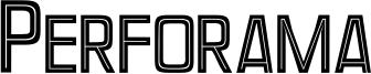Perforama Font
