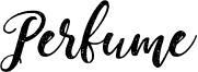 Perfume Font