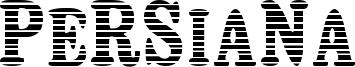 Persiana Font