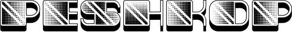 Peshkop Font
