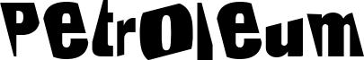 Petroleum Font
