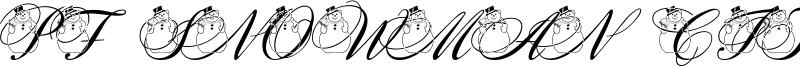 PF Snowman Citadel Font