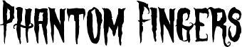 Phantom Fingers Font