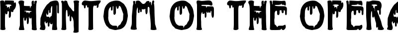Phantom of the Opera Font
