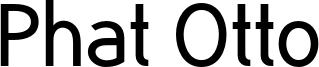 Phat Otto Font