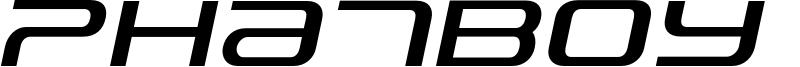 PhatBoy Slim Italic.otf