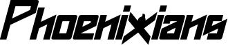 Phoenixians Bold Italic.otf