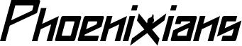 Phoenixians Italic.otf