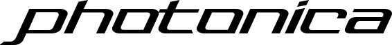 Photonica Font