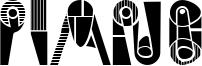 Piano Font