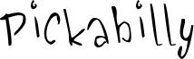 Pickabilly Font