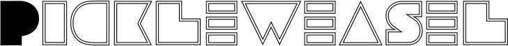 Pickleweasel Font