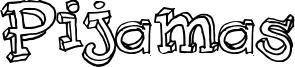 Pijamas Font