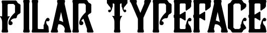 Pilar Typeface Font