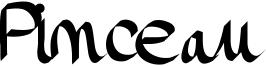 Pinceau Font