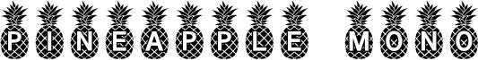 Pineapple Mono Font