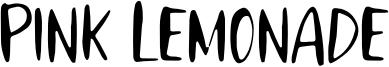 Pink Lemonade Font