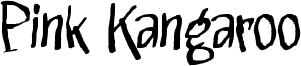 Pink Kangaroo Font