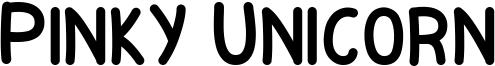 Pinky Unicorn Font