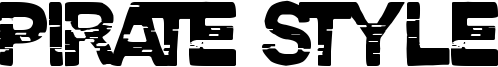 Pirate Style Font