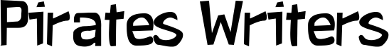 Pirates Writers Font