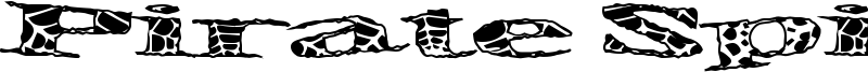 Pirate Spider Font