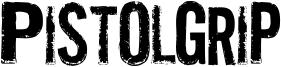 Pistolgrip Font