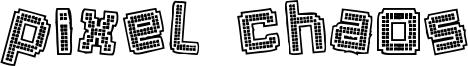 Pixel Chaos Font