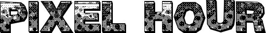 Pixel Hour Font