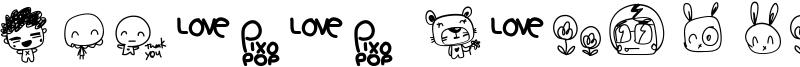 Pixopop Roughcut Font
