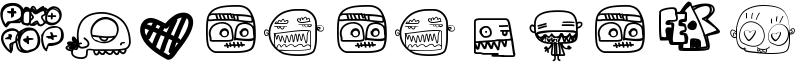 Pixopop Monstalove Font