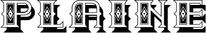 Plaine Font