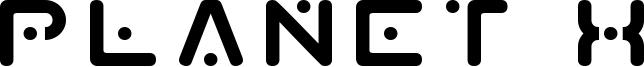 Planet X Font