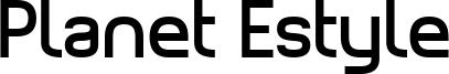 Planet Estyle Font