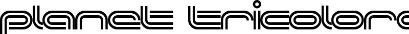 Planet Tricolore Font