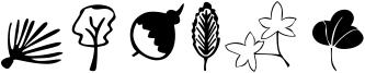 Plants Font