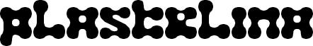 Plastelina Font