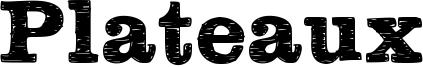 Plateaux Font