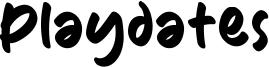 Playdates Font