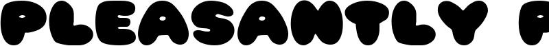 Pleasantly Plump Font
