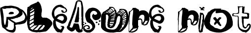 Pleasure Riot Font