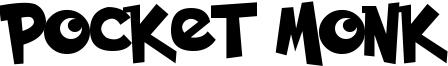Pocket Monk Font