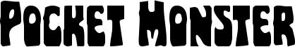Pocket Monster Font