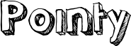 Pointy Font