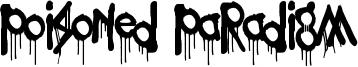 Poisoned Paradigm Font