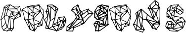 Polygons Font