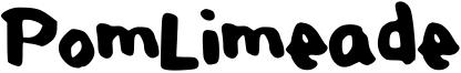 PomLimeade Font